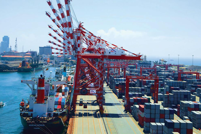 Sri Lanka SAGT Port